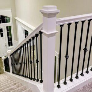 Metal Stair Handrail