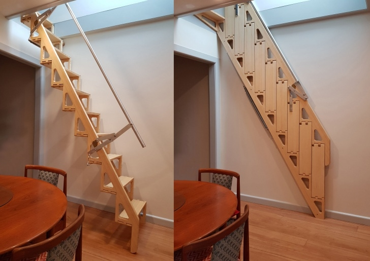 Amazing Retractable Stairs Design Picture 674