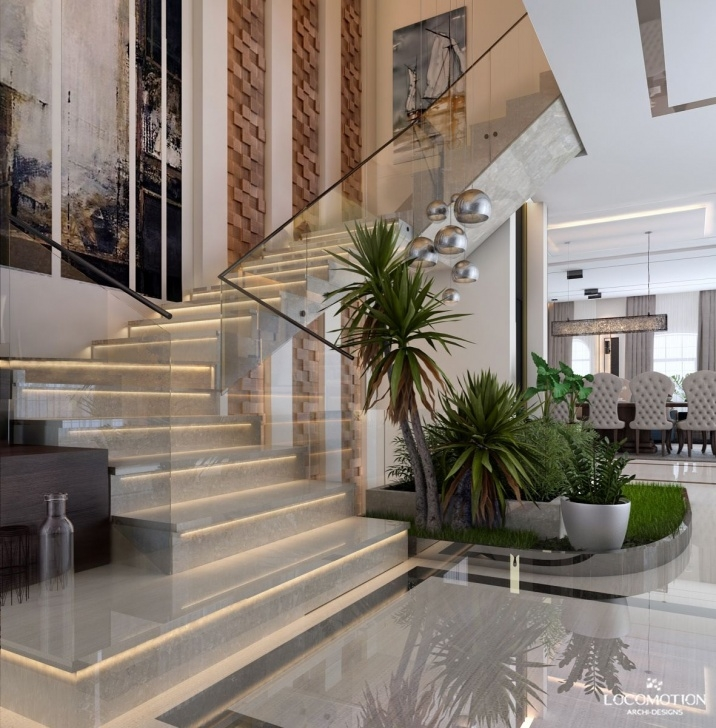 Amazing Villa Stairs Designs Picture 412