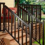 Amazingly Aluminum Handrail For Stairs Photo 826