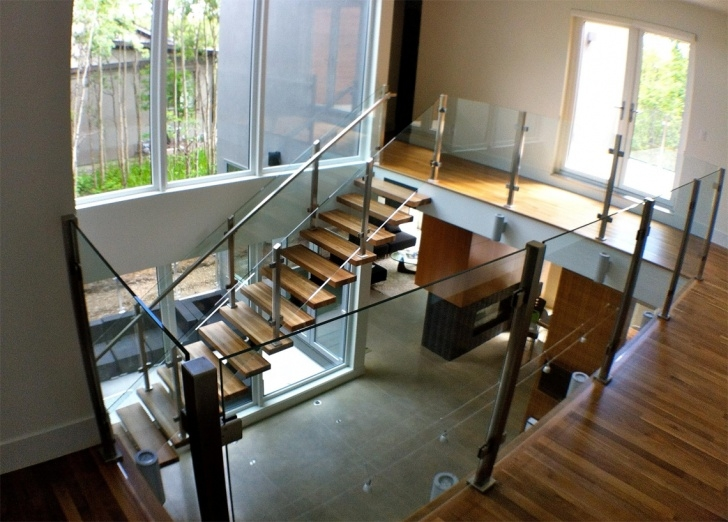 Amazingly Interior Glass Railing Image 122