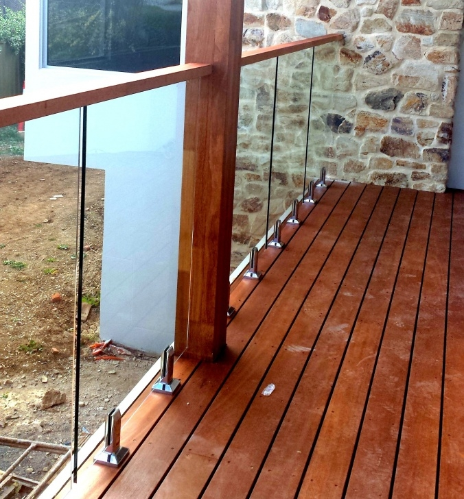 Awesome Glass Balustrade With Timber Handrail Picture 345