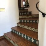 Awesome Wood Stairs With Tile Risers Photo 451