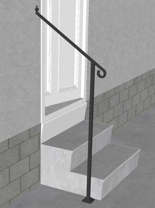 Best 1 Step Handrail Image 740