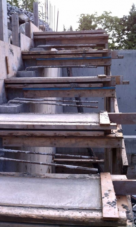 Best Concrete Stair Formwork Design Photo 302