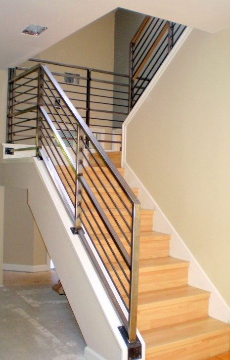 Best Cool Modern Metal Railings Interior Photo 223