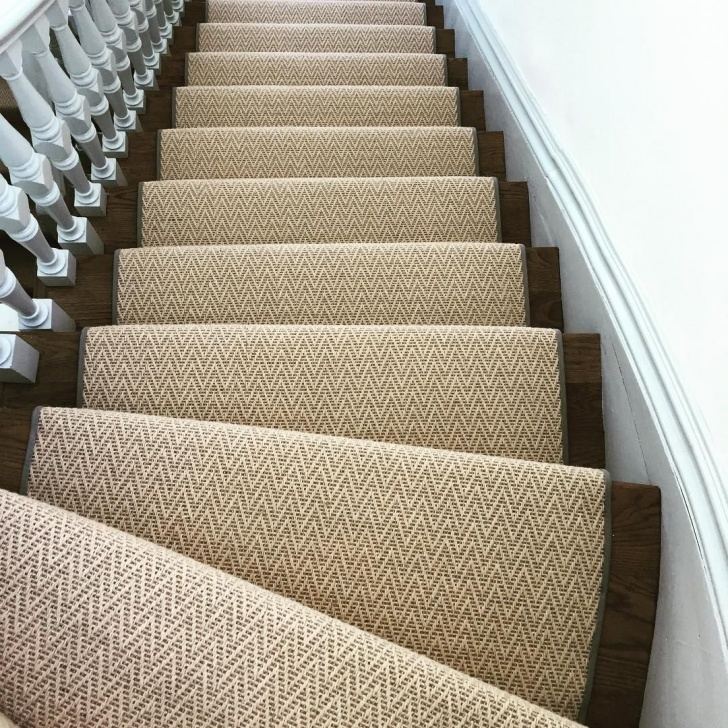 Best Cool Zig Zag Stair Carpet Image 023