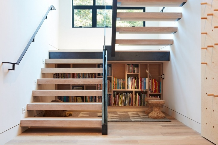 Best Double L Shaped Staircase Design Photo 334
