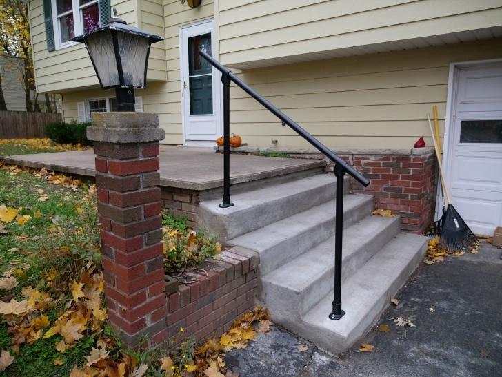 Best Exterior Metal Handrails Photo 330