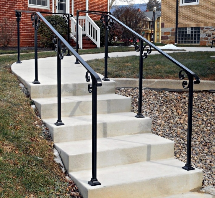 Best Exterior Step Railing Photo 392