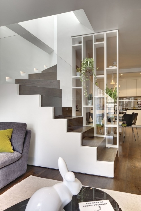 Best Partition Of Stairs In Living Room Picture 068