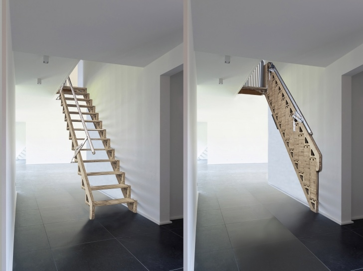 Best Retractable Stairs Design Picture 281