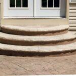 Best Round Concrete Steps Design Picture 517