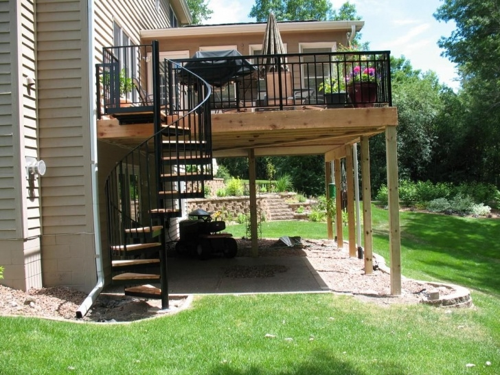 Best Spiral Staircase Outdoor Deck Picture 614