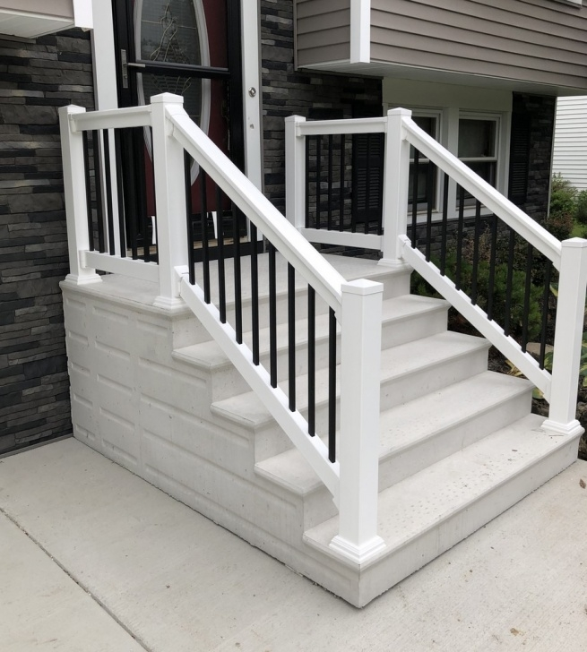 Best Vinyl Railing For Steps Picture 415
