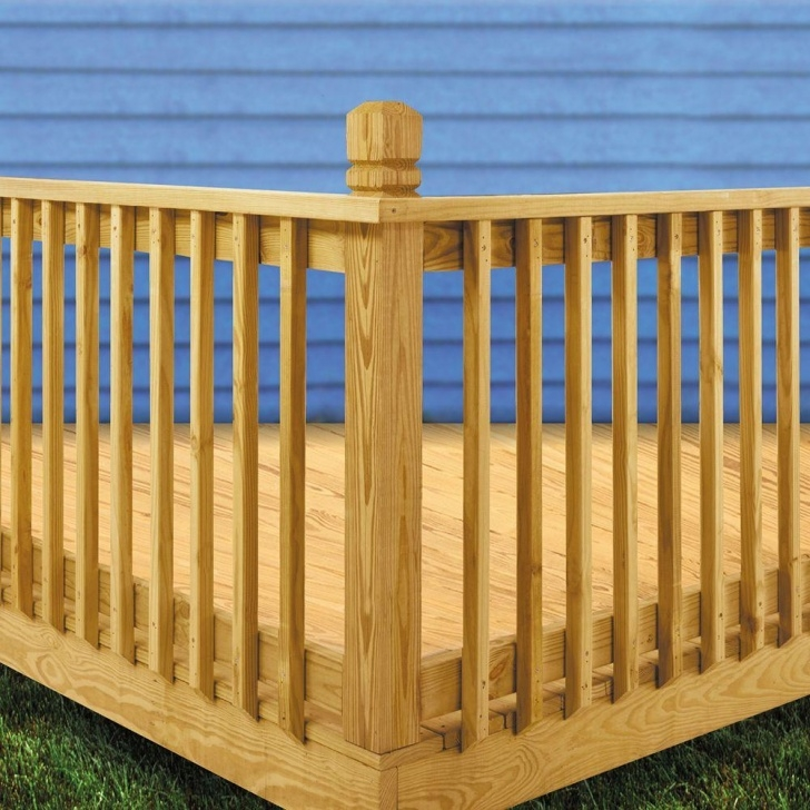 Best Wood Balusters Deck Picture 422