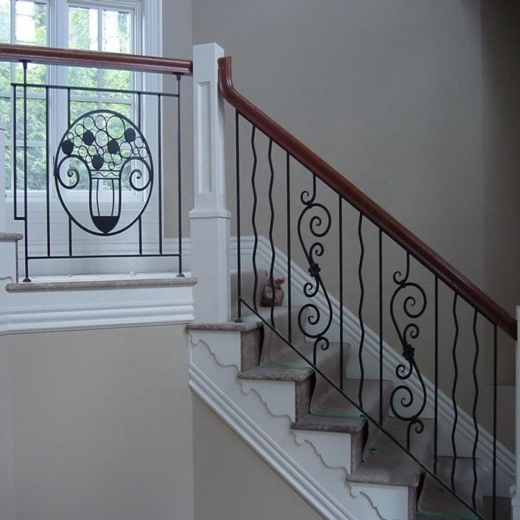 Best Wrought Iron Balustrades And Handrails Photo 597