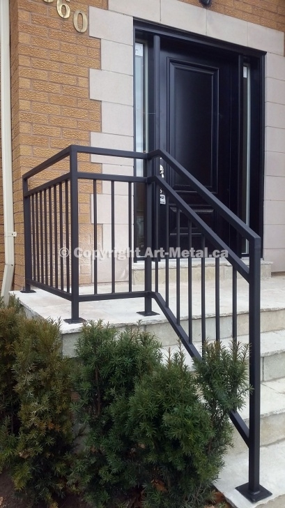 Cool Exterior Metal Handrails Picture 215
