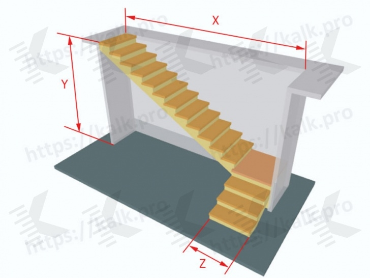 Creative Double L Shaped Staircase Design Photo 612