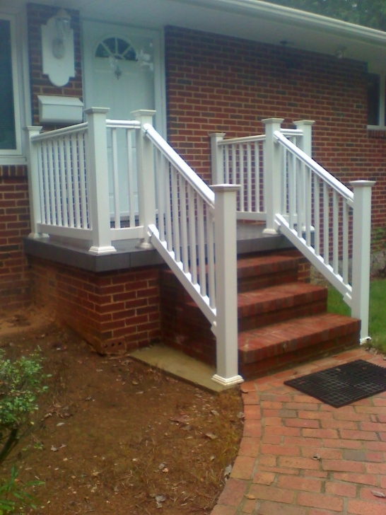 Creative Vinyl Handrails For Concrete Steps Image 461