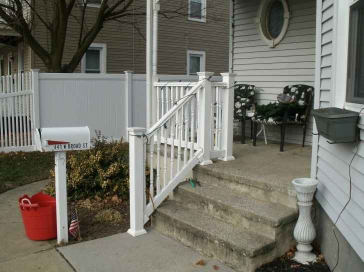 Creative Vinyl Handrails For Concrete Steps Picture 264