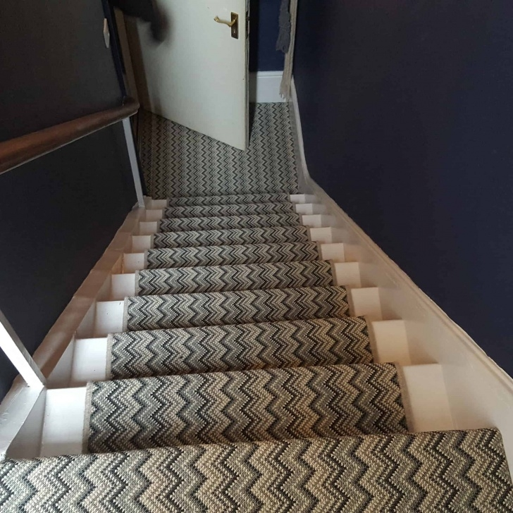 Creative Zig Zag Stair Carpet Photo 237