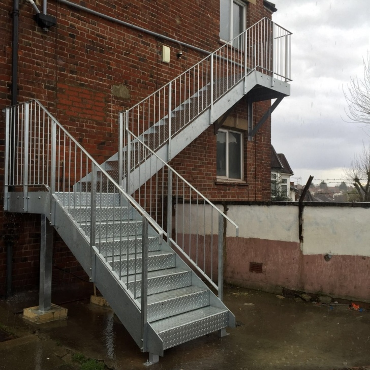 Easy Galvanised Steel Staircase Picture 805