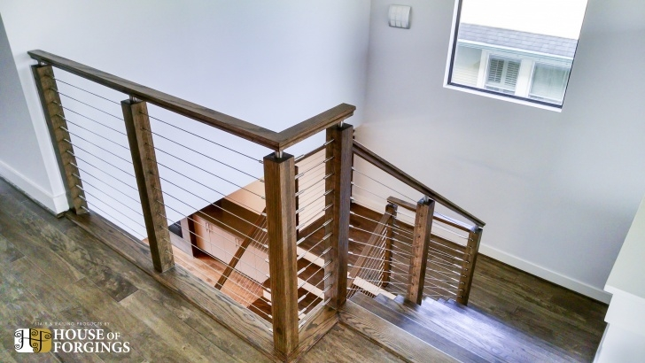 Easy Indoor Cable Railing Photo 685