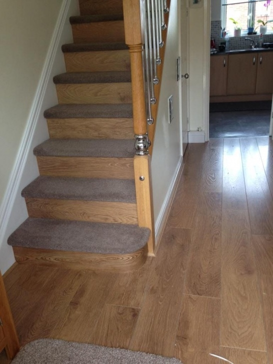Easy Wooden And Carpet Stairs Picture 589