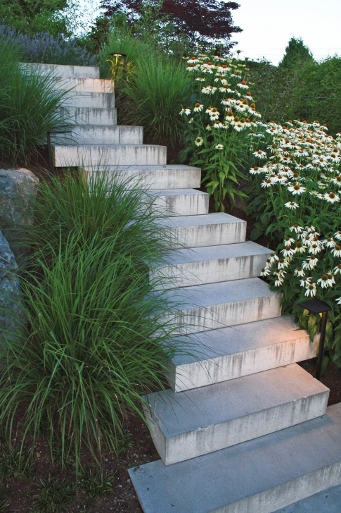 Fascinating Hillside Stairs Design Picture 597