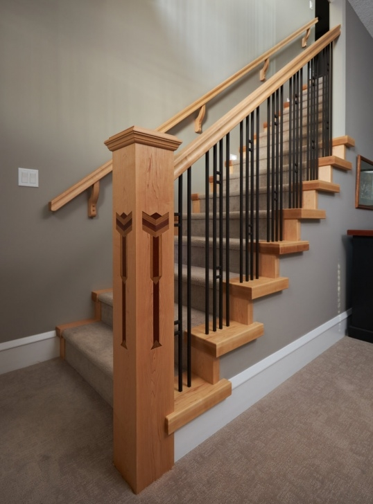 Gallery Of Craftsman Stair Railing Photo 341