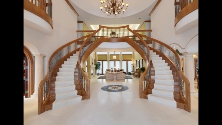 Gallery Of Modern Double Staircase Picture 804