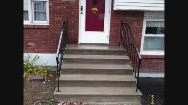 Gallery Of Painting Outdoor Concrete Steps Image 982
