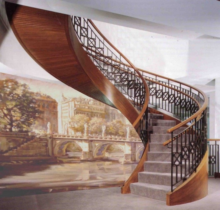 Gallery Of Semi Circle Staircase Design Photo 241