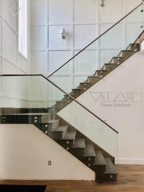 Gorgeous Glass Stair Balustrade Systems Image 378