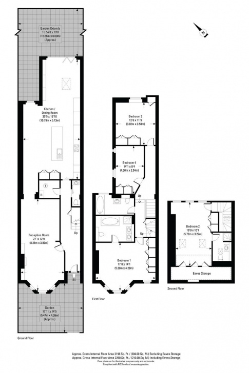 Gorgeous House Plans With Stairs In The Middle Photo 548