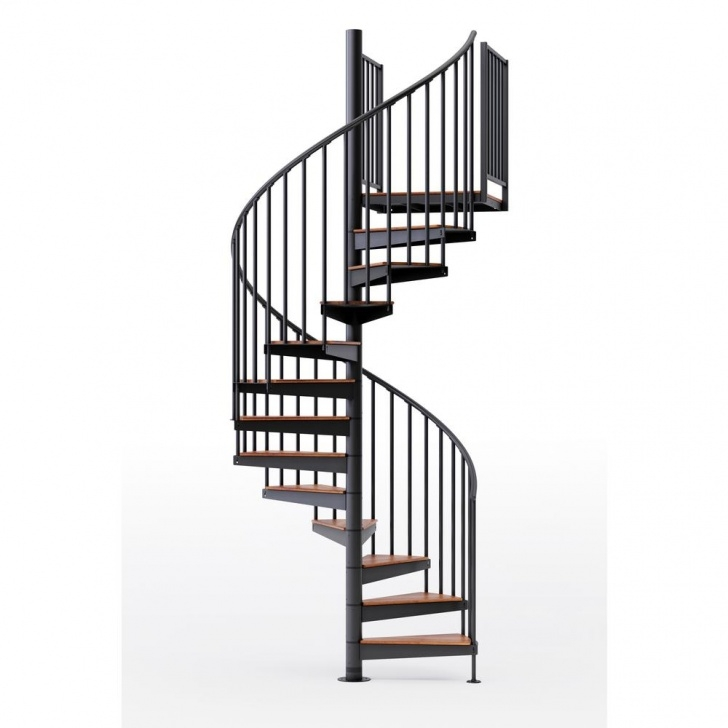 Gorgeous Spiral Staircase Home Depot Photo 158