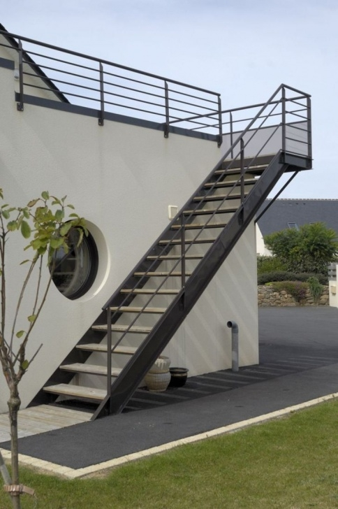 Great Exterior Stairs Design Photo 109