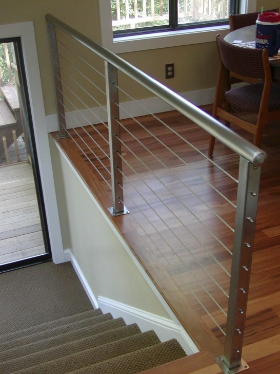 Ideas for Indoor Wire Railing Picture 676