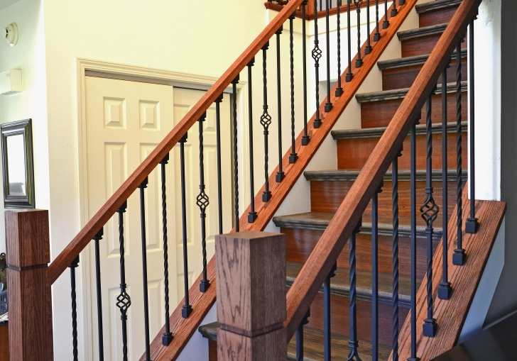 Ideas for Iron And Wood Staircase Picture 926