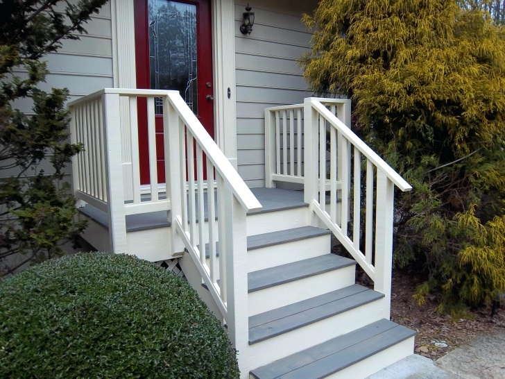 Ideas for Railing For Cement Steps Photo 997
