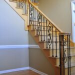 Imaginative Iron And Wood Staircase Image 230