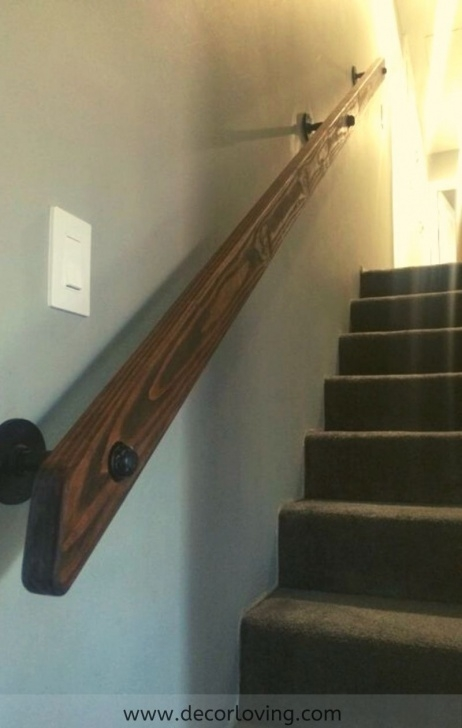 Innovative Basement Stair Railing Image 276