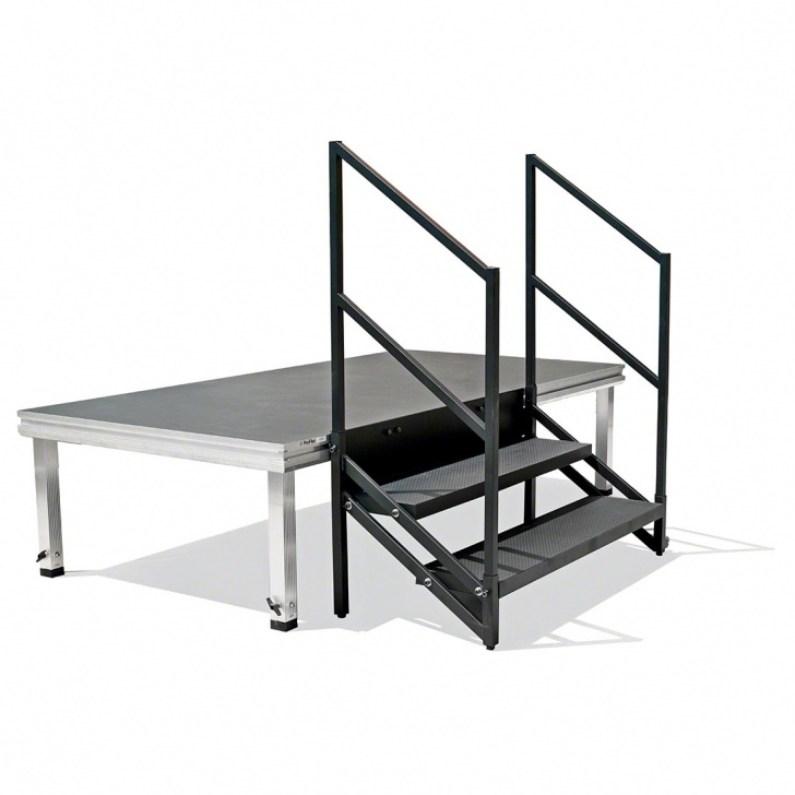 Innovative Portable Stairs With Handrail Picture 840