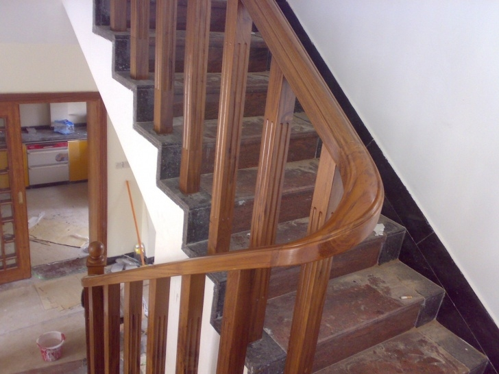 Innovative Teak Wood Staircase Designs Image 116