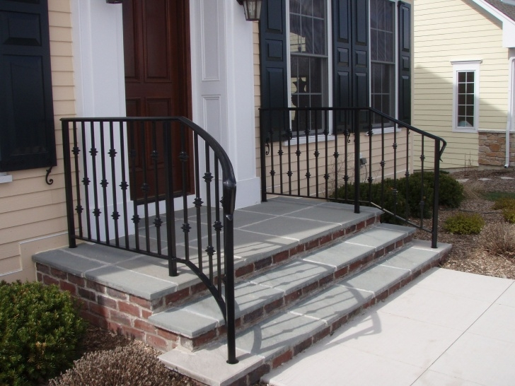 Innovative Wrought Iron Handrails For Outdoor Steps Picture 176
