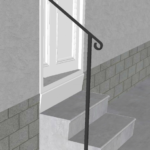 Inspiration Metal Handrails For Steps Photo 972