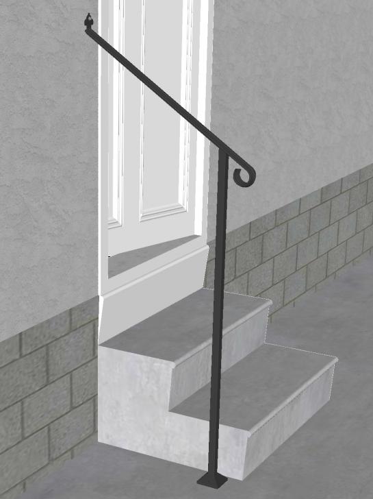 Inspiration Metal Handrails For Steps Photo 972