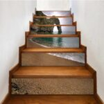 Inspiration Wood Stairs With Tile Risers Photo 895
