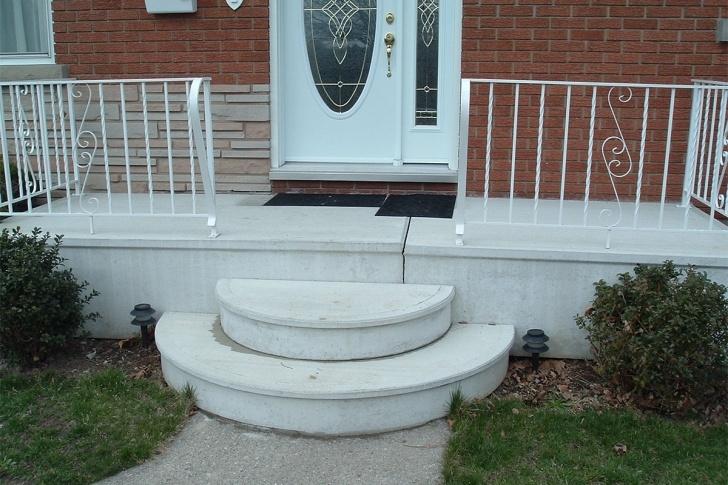 Inspirational Round Concrete Steps Design Photo 631